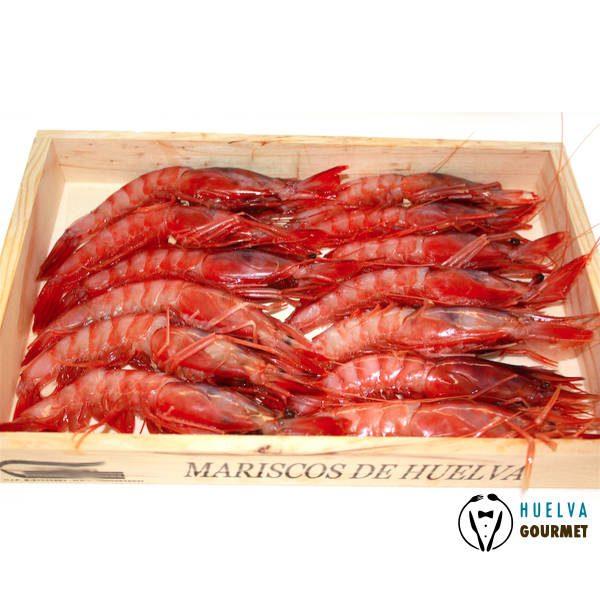 Gamba roja o alistado de Huelva a domicilio